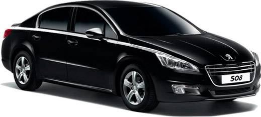 Peugeot noire